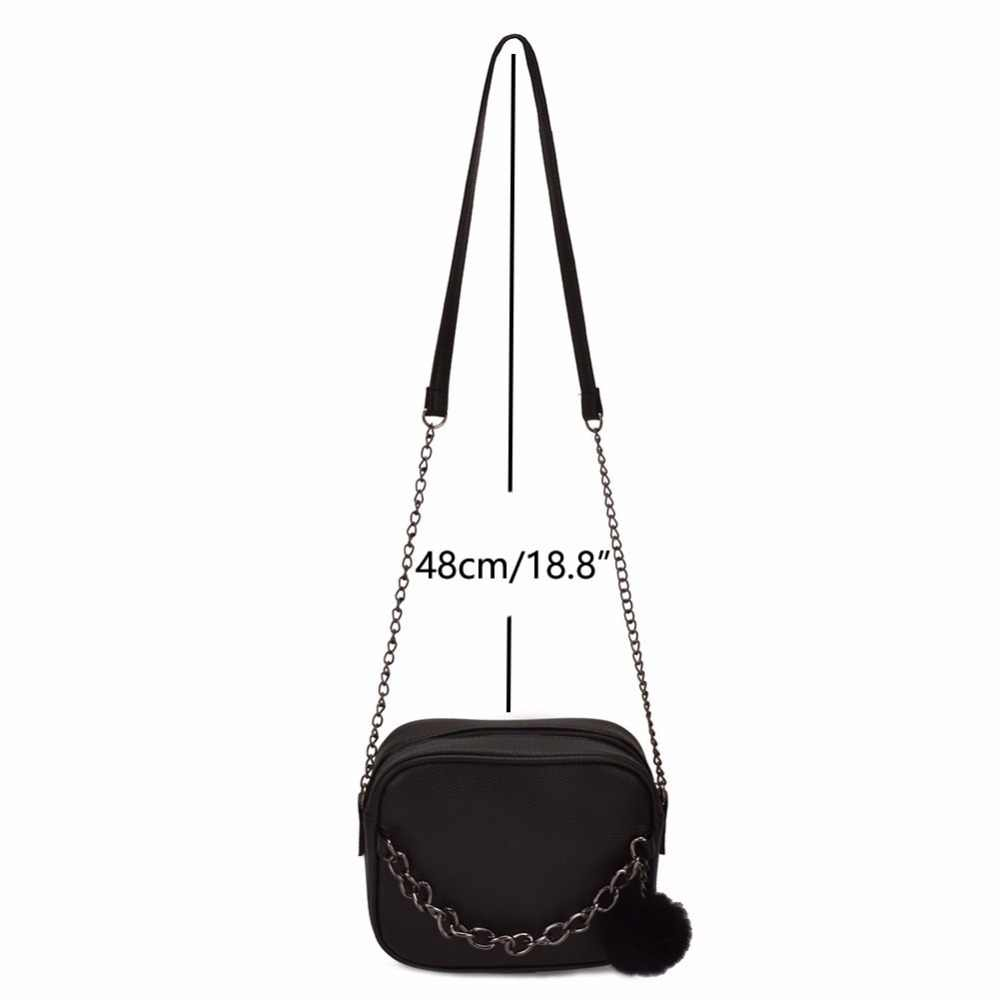 ... JIARUO Chain Design Women Crossbody bag small Square leather Messenger  bag shoulder bag handbags cross body ... 7b60bd0257fab