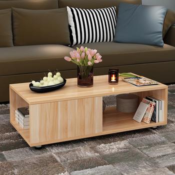 Stolik meble do salonu drewniane meble domowe sofa stolik dolna herbaty stolik minimalistyczny nowoczesne biurko 120*60*44 cm tanie i dobre opinie Meble do domu Minimalistyczny nowoczesny China Panel 120*60*44cm Ecoz Rectangle Montaż