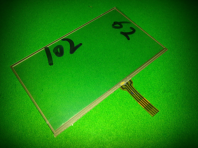 Skylarpu  4.3'' Inch 4 Wire Resistive Touch Screen Panels 102mm*62mm 102*62mm GPS Touch Screen Digitizer Panel Free Shipping