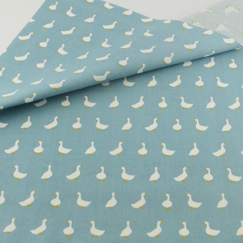 Tejidos de tela de algodón azul ganso teramila decoración ropa de cama de tejido