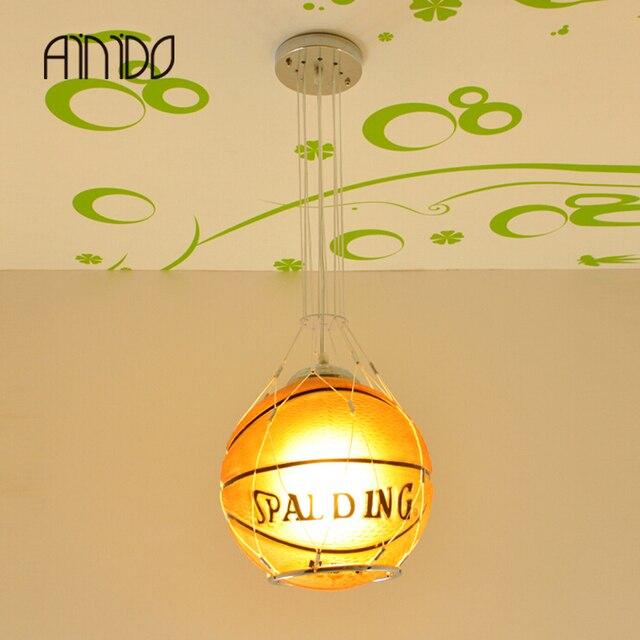aliexpress koop kind slaapkamer voetbal hanglamp kinderen