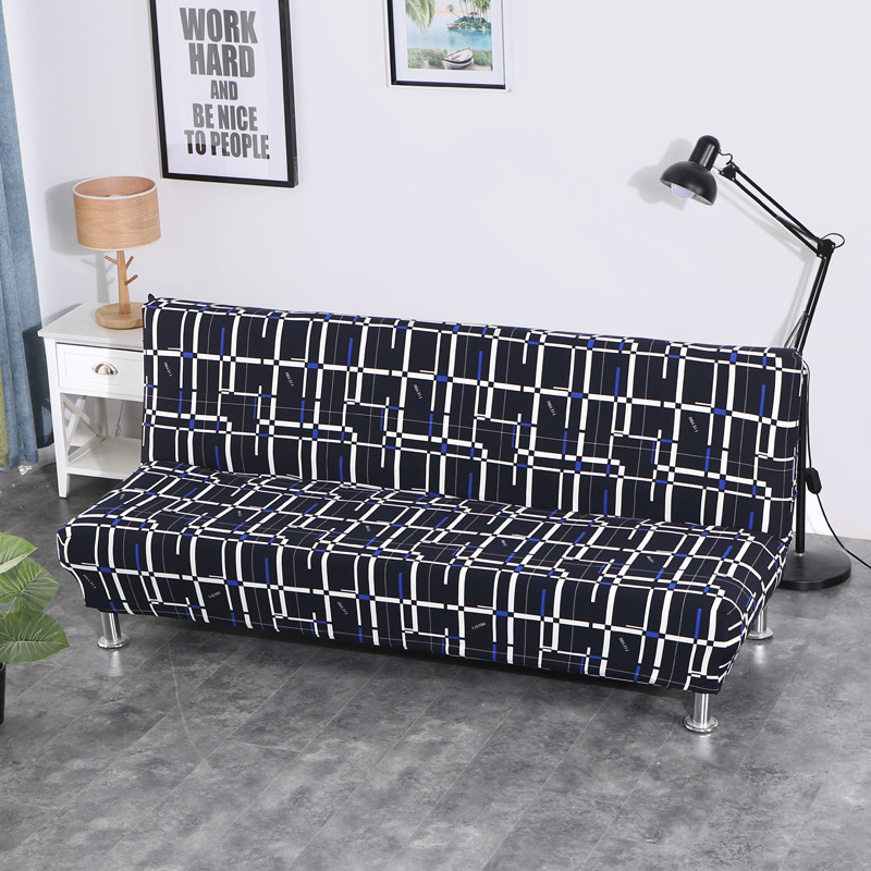 Universal size Armless Sofa Bed Cover Folding seat slipcovers stretch cheap Couch Protector Elastic bench Futon Covers XD04