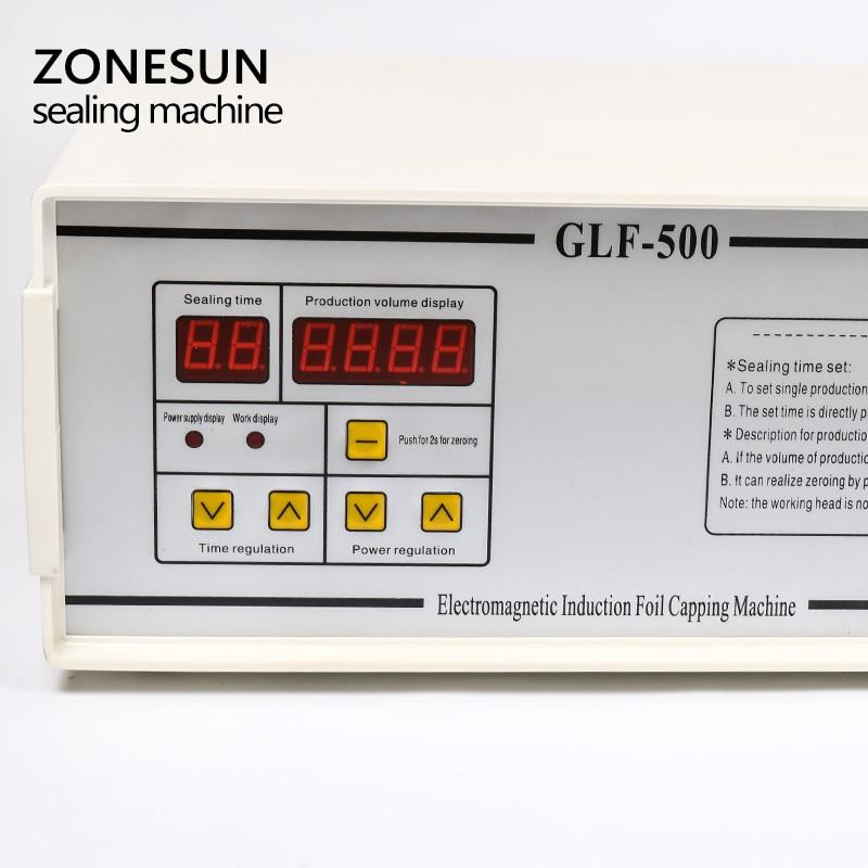 ZONESUN új, GLF-500 típusú hordozható és folyamatos indukciós - Szerszámkészletek - Fénykép 3