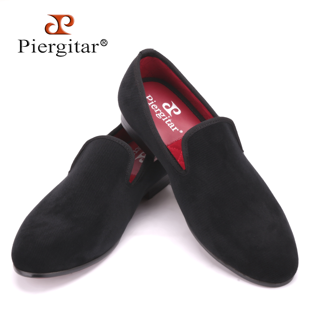 Three Color Plain Cotton Fabric Men casual Shoes Plus Size Men Loafers British Style smoking slipper Men's Flats Size US 4-17 new fashion men striped cotton fabric shoes men plus size party and banquet loafers smoking slippers men s casual shoe us 4 17