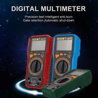 Качественный цифровой мультиметр Амперметр Измеритель сопротивления емкости экран подсветка ЖК-тест измеритель тока мультиметр AC/DC HR