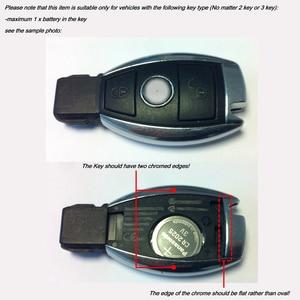 Image 3 - Reyann 10 Piece Metal Apple Tree Badge key cover for Mercedes Benz A0008900023 AMG Key Cover W204 W205 W207 W218 W212 W221 W222