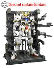 BW Gundam MG 1:100 Hangar bakım çerçeve ekipmanları raf destek çerçevesi anime aksiyon şekilli kalıp kitleri + su sonrası