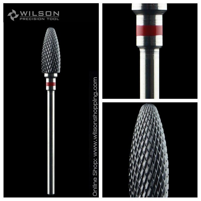 Пуля Форма-extra fine-черный Керамика (6410701) -Wilson Керамика ногтей Бурильные долото и циркония Керамика боры