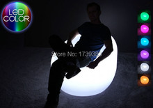 Waterproof LED sofa Armchair Bright Multi colors- ROUND decorating your living room, bedrooms, garden, pool, terrace etc
