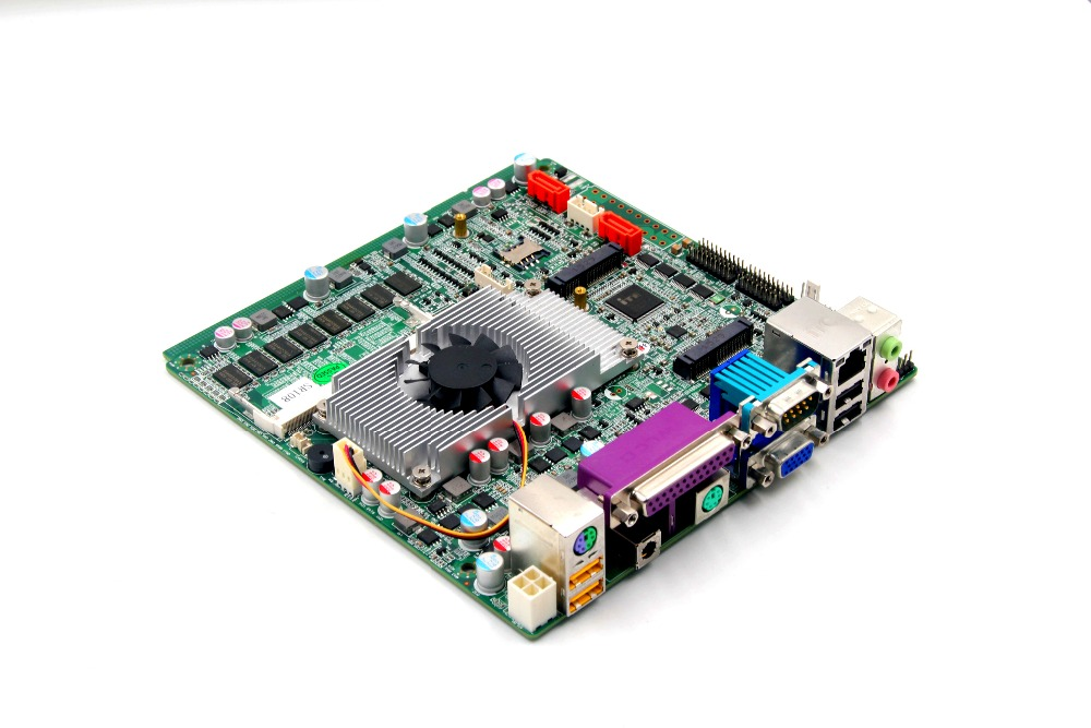 Mini ITX motherboard With NM70 Intel Celeron 1037U CPU процессор intel celeron g530 g530 cpu 2 4g
