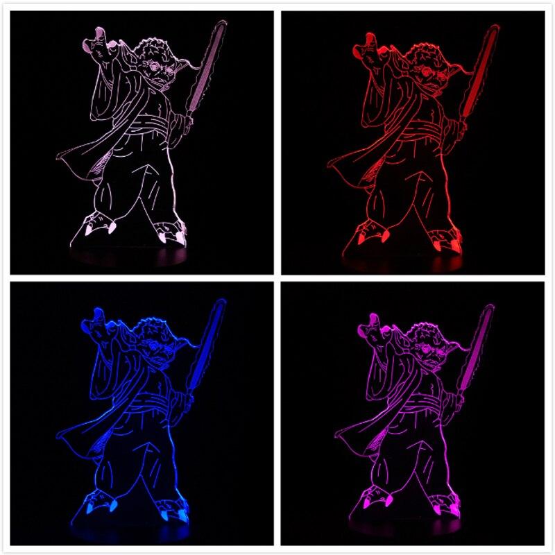 Luzes da Noite 3d led usb lâmpada led Quality : Top Quality