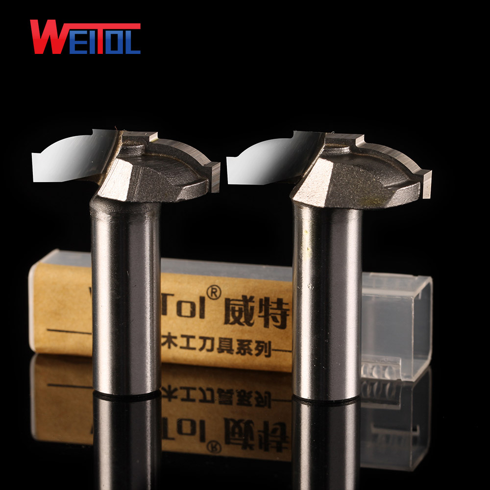 Weitol 12.7mm shank diameter CNC wood engraving tool tungsten raised panel router bit wooden carving cutter CNC tools