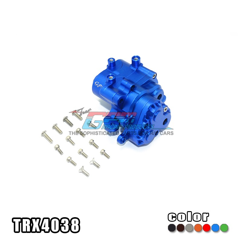 TRAXXAS TRX-4 TRX4 82056-4 Alloy center transmission case middle wave box suit - set TRX4038 stable non deformation hot sell traxxas trx 4 trx4 82056 4 pure copper pendulum wheels knuckle axle rotary type weight 21mm hex adapter set trx4023xx