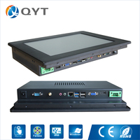 Customized Intel Celeron 3855U 12 Inch Rugged Touch Screen Panel Pc Industrial Computer Scanner With 128g
