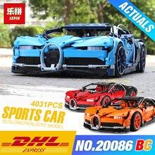 DHL техника Совместимость 42083 синий гоночный автомобиль DIY игрушечные лошадки Модель Строительный набор Конструкторы сборки кирпичи р