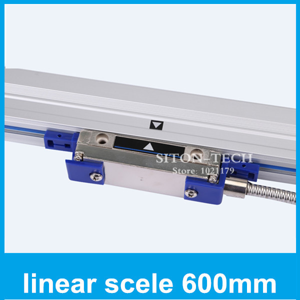 Free shipping lathe linear glass scale Rational WTB1 0.001mm 600mm digital read out Lathe accessories 600mm