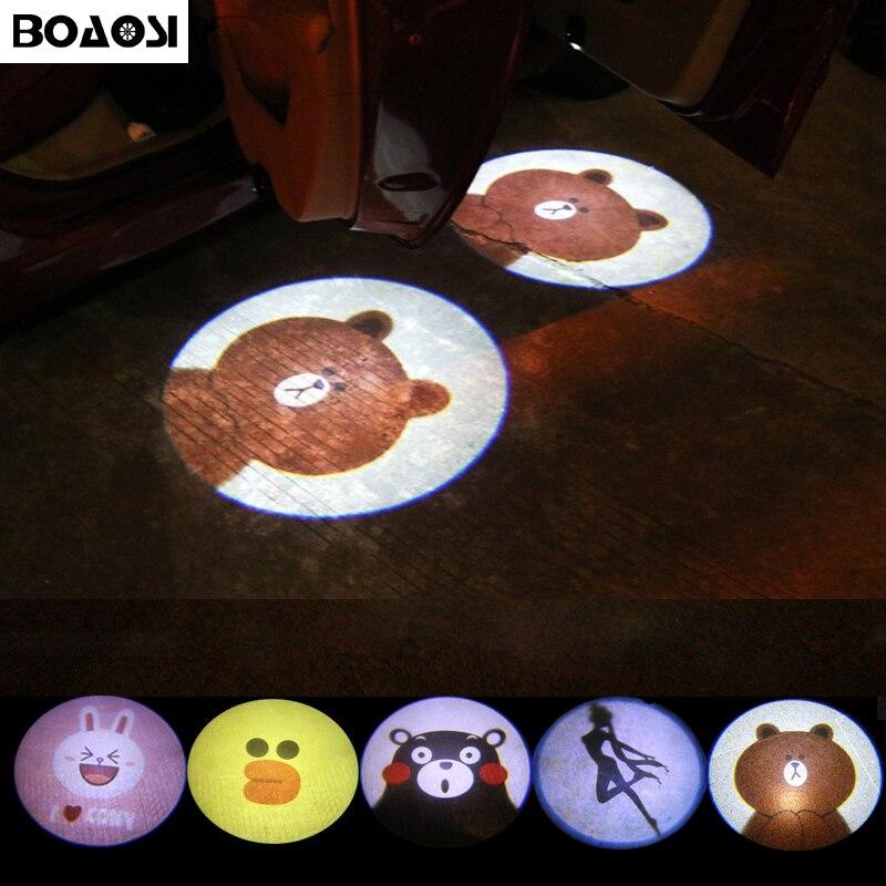 BOAOSI 2pcs Wireless Car Projector Light For Lada kalina priora niva vaz granta samara 2108 2110 2114 2109 2115 2107 xray vesta фаркоп avtos на ваз 2108 2109 2012 разборный тип крюка h г в н 800 50кг vaz 08