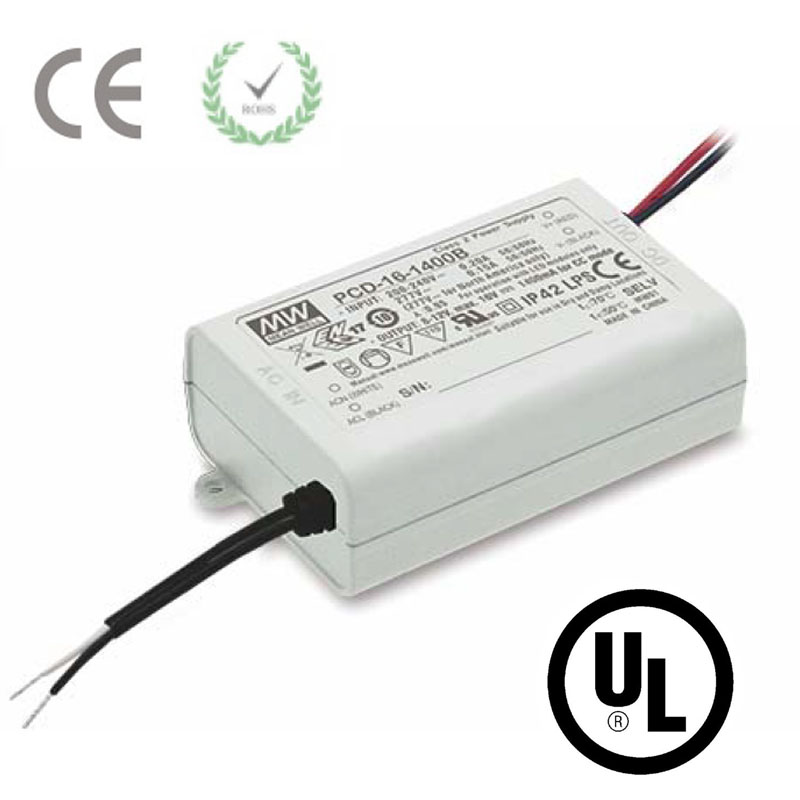 Triac 16W AC 110V 220V to DC 350mA 700/1050/1400mA Dimmable LED Driver Power Supply Transformer CE UL Light Regulator kvp 24200 td 24v 200w triac dimmable constant voltage led driver ac90 130v ac170 265v input