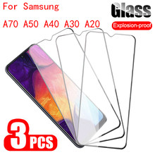 Protective Glass For Samsung Galaxy A70 Case Full Cover On For Samsung A70 A30 A40 A50 2019 Tempered Glass Sansung Sumsung Galax(China)