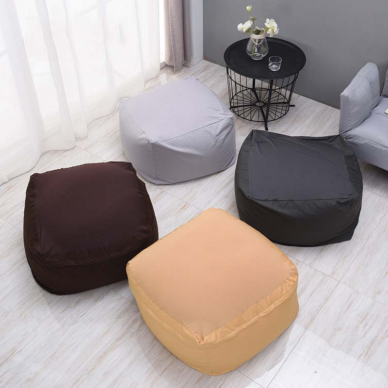 Cotton single small sofa Bean Bag lazy sofa Comfortable Living room leisure Bean bag sofa creative Japanese tatami chair цена 2017