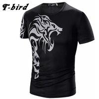 T Bird Brand T Shirt Men 2017 Short Sleeve Hip Hop Male T Shirts Mens Tattoo