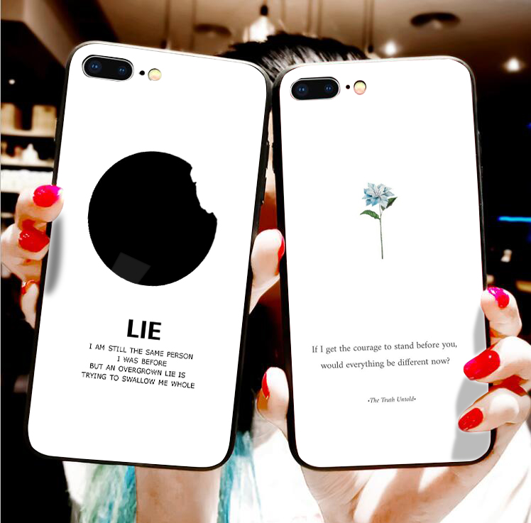 Cellphones & Telecommunications Strong-Willed Bts Wings Jimin Lie Phone Sticker Phone Case For Iphone X Xr Xs Max 8 7 6s Plus 5s For Samsung S8 S9 Plus S7 Edge Case Cover Half-wrapped Case