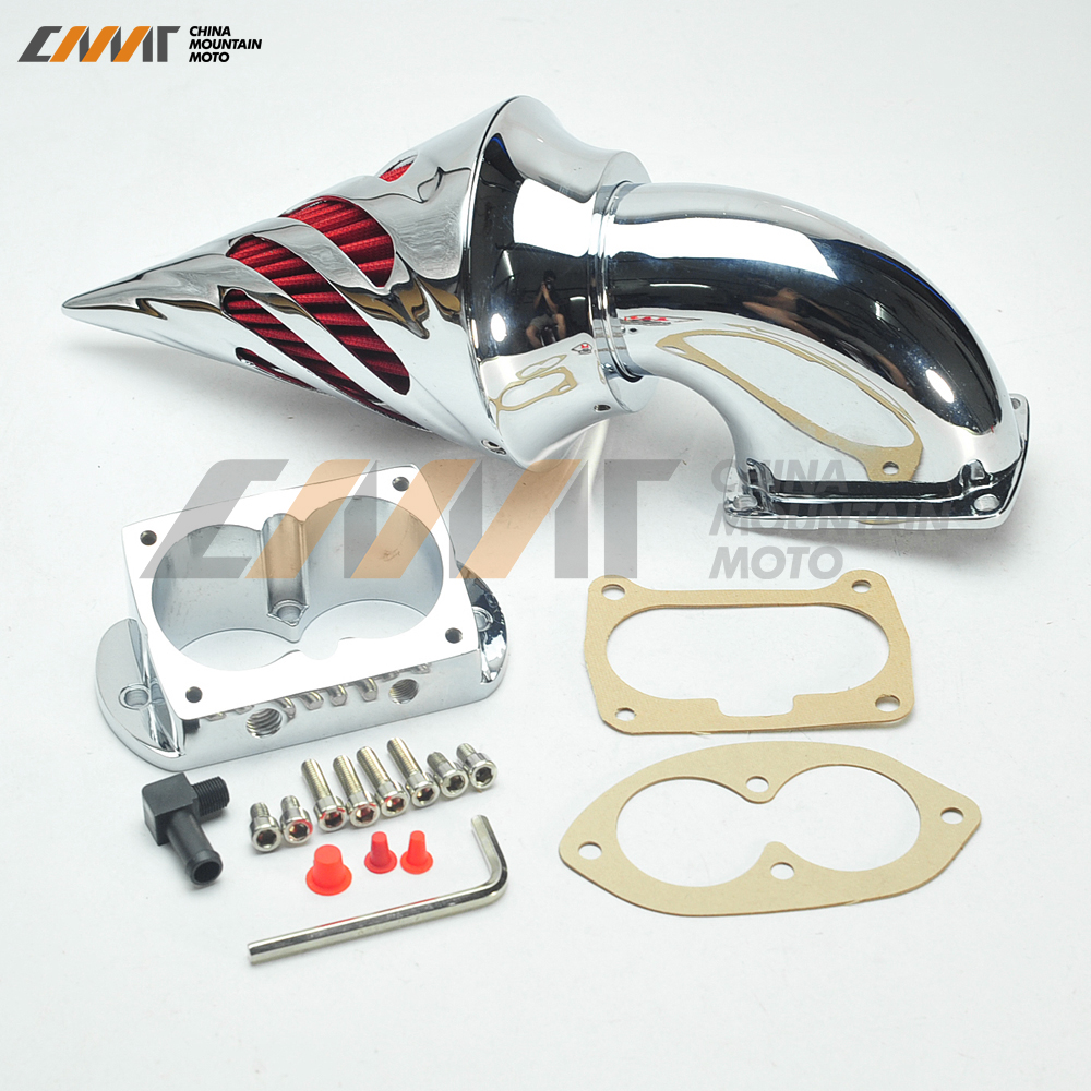 Chrome Air Cleaner Kits Intake Filter case for KAWASAKI Vulcan 1500 1600 Mean Streak kawasaki vn 1600 mean streak в спб