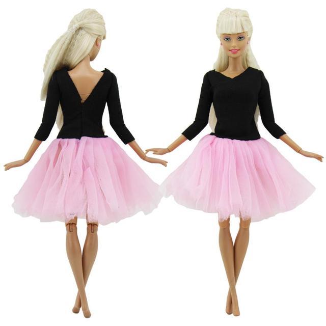 2bc057eb8590 Cute Handmade Ballet Dress Dancing Costume Pink Fluffy Lace Skirt ...