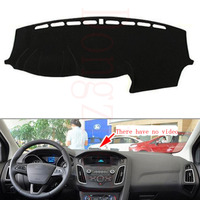 Dongzhen Fit For Ford For Focus 2012 To 2016 Car Dashboard Cover Avoid Light Pad Instrument