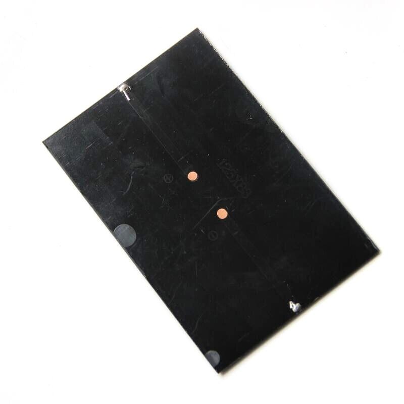 BUHESHUI 1,8 Вт 5,5 В солнечная ячейка поликристаллическая солнечная панель модуль DIY Солнечное зарядное устройство 123*83*3 мм 20 шт./партия