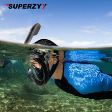 2018 горячая маска для дайвинга подводная противотуманная маска для подводного плавания для лица женская и Мужская одежда для плавания