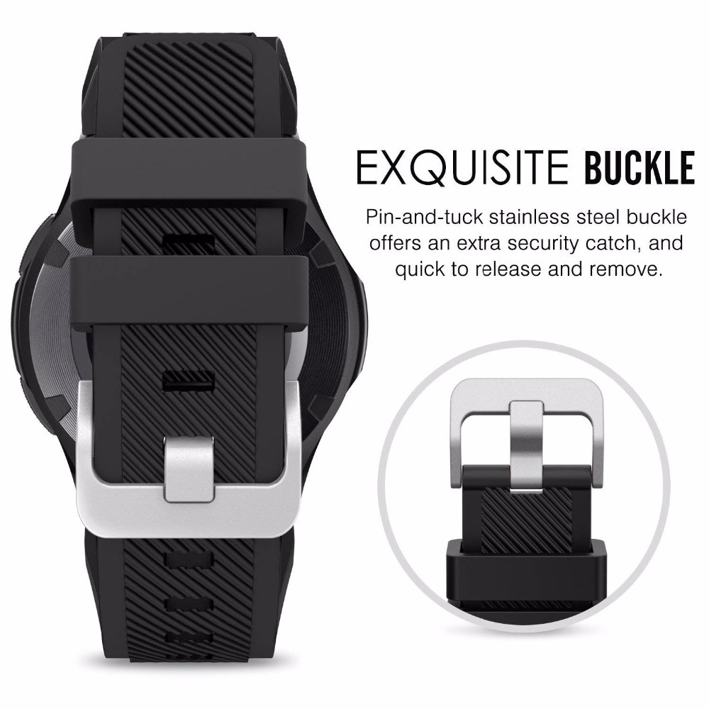 Band For Samsung Galaxy watch 46mm/42mm/active 2 gear S3 Frontier/huawei watch gt 2e/2/amazfit bip/gts strap 20/22mm watch strap