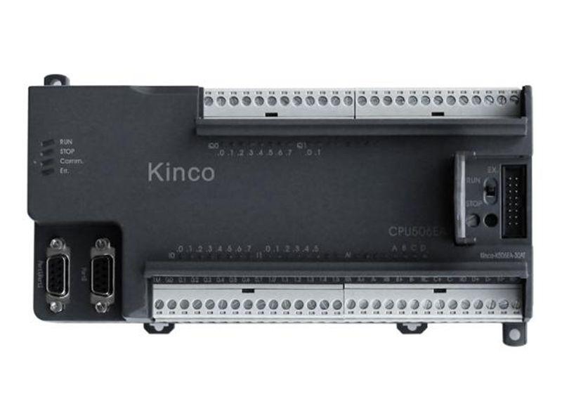 New K506EA-30DT KINCO PLC CPU DC21.6-28.8V power supply 14DI 4AI 10DO 2AO transistor k506ea 30at kinco plc cpu ac85 265v power supply 14di 4ai 10do 2ao transistor new original