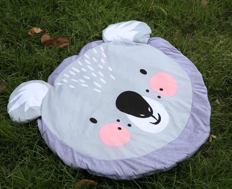 85cm New Koala Cartoon newborn infant soft sleeping mat play game rug cotton baby climbing carpet kids blanket Christmas gift