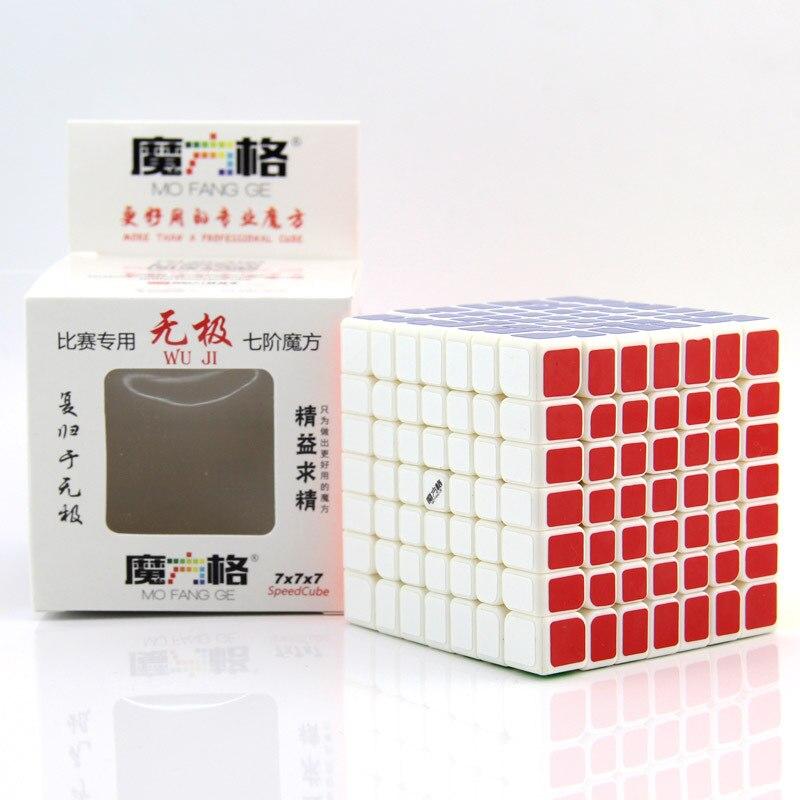 Cube néo professionnel 7x7x7 7.0 cm vitesse pour Cubes Magico Puzzle Antistress autocollant Cubo Magico pour enfants jouets éducatifs pour adultes