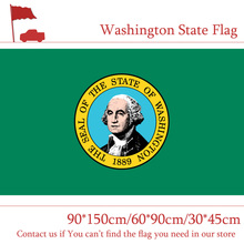 Free shipping America 3*5ft Washington State Flag 30*45cm Car Flag 90*150cm 60*90cm High-quality high quality 3 layers glossy pearl white diamond glitter vinyl wrap roll bubble free for car macbook size 1 52 20m 5ft x 65ft
