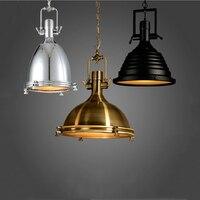 Adjustable chain pendant lamp retro loft lamp dining room office internet bar club pub cafe lights vintage chandelier droplight