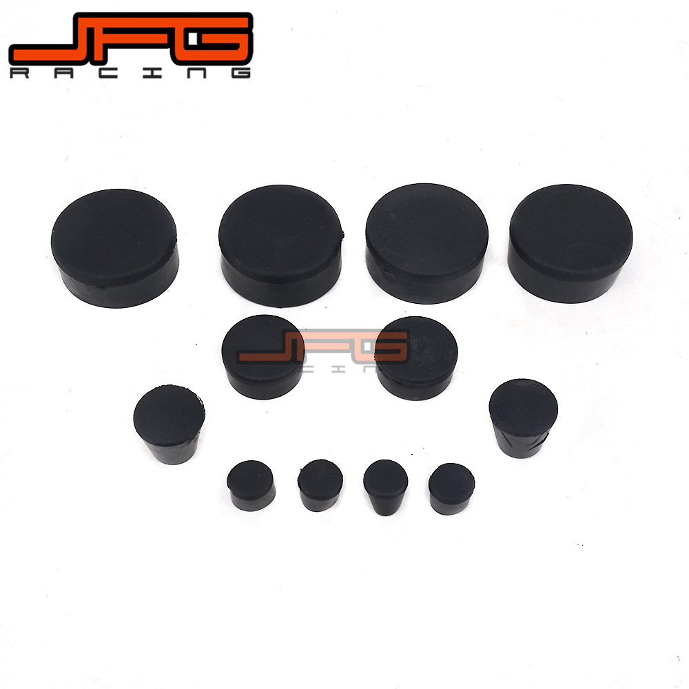 Motorcycle Rubber Frame Fairings Plugs For <font><b>SUZUKI</b></font> GSXR1000 <font><b>GSX1000R</b></font> GSXR 1000 2007 2008 07 08 image