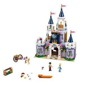 Image 5 - سلسلة مكعبات بناء متوافقة مع Disneye الأميرة صديق سلسلة لعب للأطفال البنات هدية
