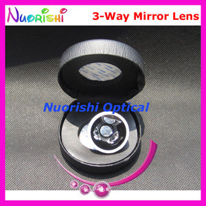 Image 4 - SL13 Ophthalmic Goldman Three 3 Way Mirror Fundus Slit Lamp Contact Lens Black Leather Metal Case Packed Free Shipping