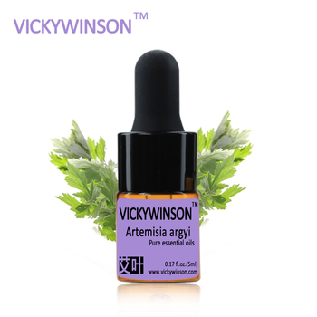 VICKYWINSON Artemisia argyi essential oil 5ml 100% pure medicine Argy Wormwood Leaf herbal Essential oils  WD1 chinese dried artemisia capillaris herb 500g natural herbal wormwood suplementos tea health care products yinchen direct selling page 9