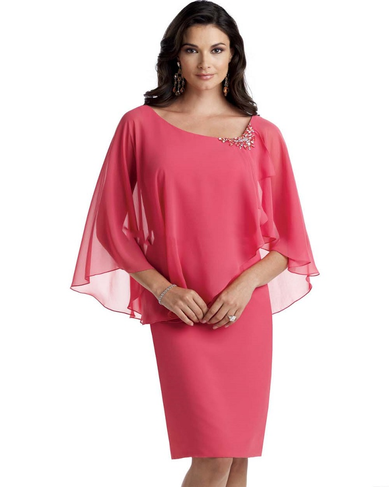 Mother Of The Bride Pant Suits Simple Chiffon With