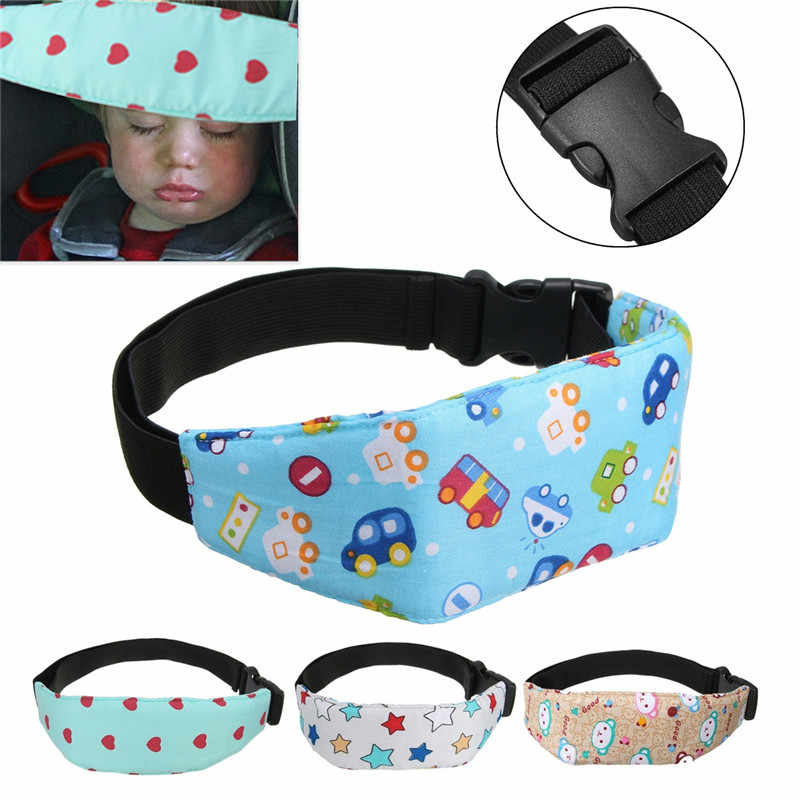 Baby Infant Auto Car Seat Support Belt Safety Sleep Aid Head Holder For Children Kids Baby Pillow Sleeping Safety Accessories