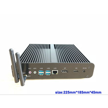 цена на 7th Gen Core i7 7500U Kaby Lake Windows 10 Computer 3.5GHz HD Graphics 620 support SSD 2.5HDD minipc 4K media desktop box