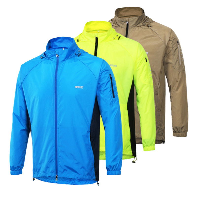 Rainproof Cycling Jacket Breathable Packable Bicycle Clothing Windproof Waterproof Soft Shell Coat MTB Bike Jersey ...