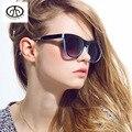 Marca mulheres óculos de sol óculos óculos Full Frame pára Retro óculos de sol UV guarda-sóis