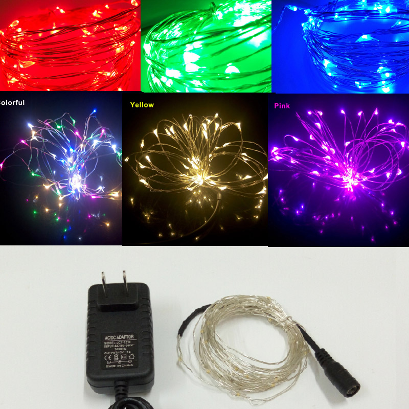 Online Cheap 12 Volt Led String Lights Aliexpress Wedding Decoration