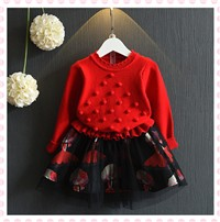 Girls-dresses-autumn-knitted-children-clothes-kids-clothing-fashion-patchwork-dress-baby-girls-clothes-nova-dress