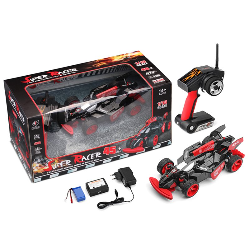 WLtoys 1 18 scale RC 4WD F1 formular one racing drift car 184012 ARR RTR brushless