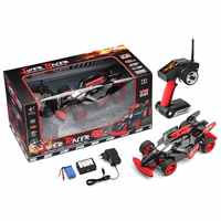 WLtoys 1/18 scale RC 4WD F1 formular one racing drift car 184012 ARR RTR brushless motor 2435 quicrun 30A esc upgrade